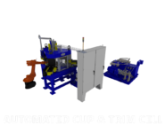 Automated Cup & Trim Tube End Forming Machine