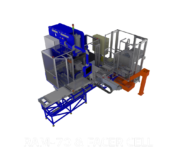 Automated RAM Tube End Forming Cell