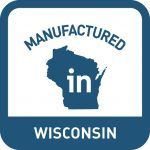 WEDC Manufactured in Wisconsin Logo