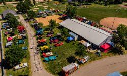 Aerial Shot 2 - Car Show 2018