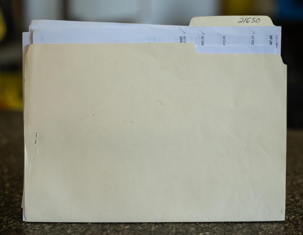 Job Folder